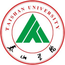泰山学院成教logo