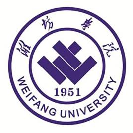 潍坊学院成教logo